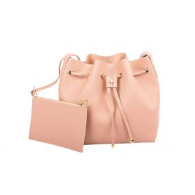 Piggy Pink Bucket Bag