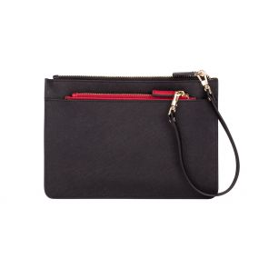 Black Red Duo Pouch