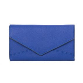 Royal Blue Envelope Wallet