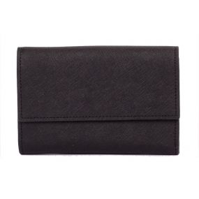 Black Grace Fold Wallet