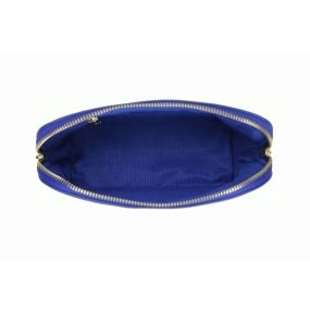 Royal Blue Large Cosmetic Case